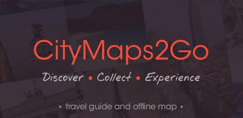 City Maps 2Go Pro Offline Maps v4.2 Apk Miki