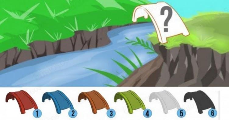 Teste de Personalidade: De que cor você pintaria a ponte?
