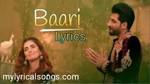 Baari lyrics in English