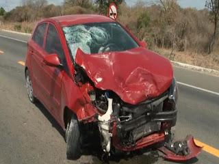 Motociclista morre no interior da PB após colidir em carro