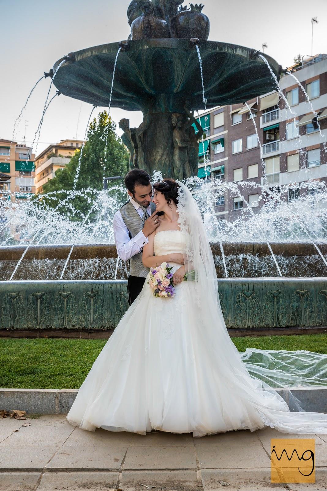 Fotografía de boda en el Salón, Granada
