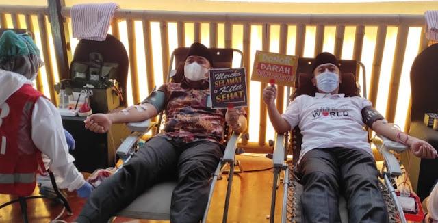 Hari Donor Darah Sedunia, Bupati Fauzan Donor Darah