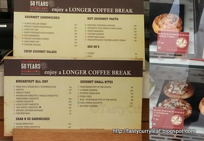 The Coffee Bean And Tea Leaf Santa Clara Menu Me Being A Person I Went For Tropical Pion Latte Also Tried