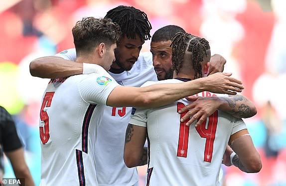 ENGLAND YAANZA VYEMA EURO 2020, YAICHAPA CROATIA 1-0 WEMBLEY-Michezoni leo