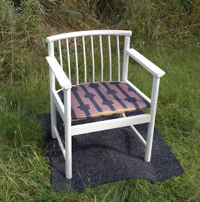 Pinnanojatuoli, Marimekon Masurkkakangas, tuoli