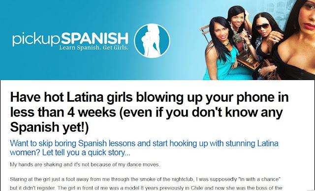 Pickup Spanish - Learn Spanish. Get Girls.