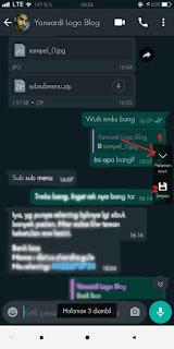 Cara Screenshot Panjang Di Whatsapp  HP Oppo Tanpa Aplikasi