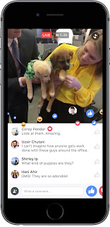 Facebook Introduces Video Live Streaming On PC