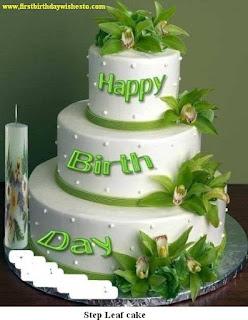 step leaf cake