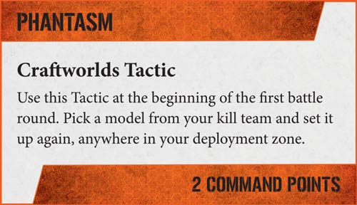 Tácticas Kill Teams Asuryani