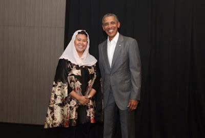 Obama Akui 'Berkah' Gus Dur Antarkan Dirinya Jadi Presiden