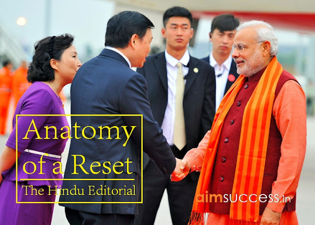 Anatomy of a Reset The Hindu Editorial