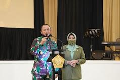 Letjend TNI Besar Harto Karyawan Resmi Jabat Danpussenif Pertama Berpangkat Pati Bintang Tiga