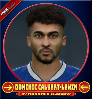 PES 2017 Faces Dominic Calvert-Lewin by M.Elaraby