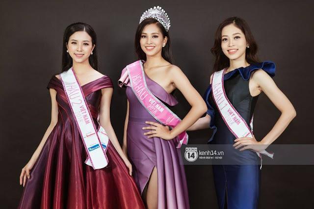 top 3 hoa hậu