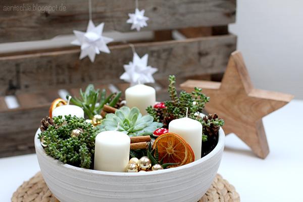 Aentschies Blog Diy Der Adventskranz Mal Anders