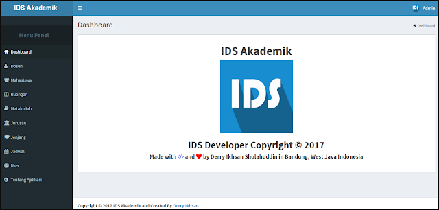 Download Source Code Sistem Informasi Akademik IDS