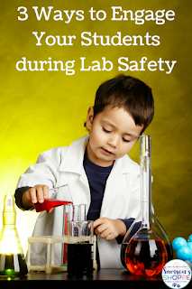 Laboratory safety activities to promote engagement and motivate students