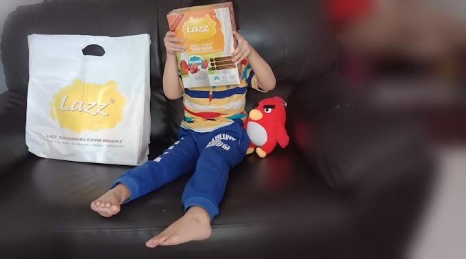 Berat 'Arjuna Mama' Meningkat Selepas Konsisten Consume Susu Kambing Jenama Lazz