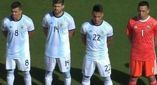 منتخب الأرجنتين أمام إكوادور