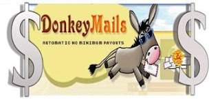 DonkeyMails, make money online, work at home, PTC sites