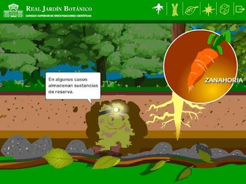 REAL JARDIN BOTÁNICO: Aplicación interactiva