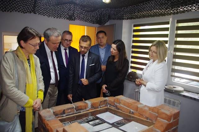 Wizyta Ambasadora Belgii w szkole w Gogołowie