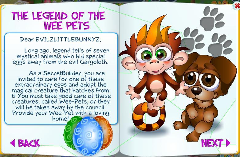 Secret Builders Guide: Wee Pets