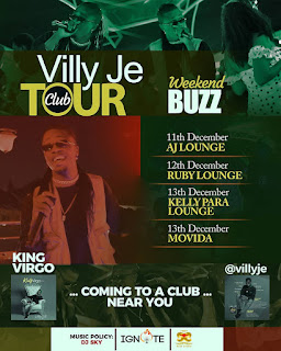 Villy Je Annouces ''The Villy Je Club Tour''