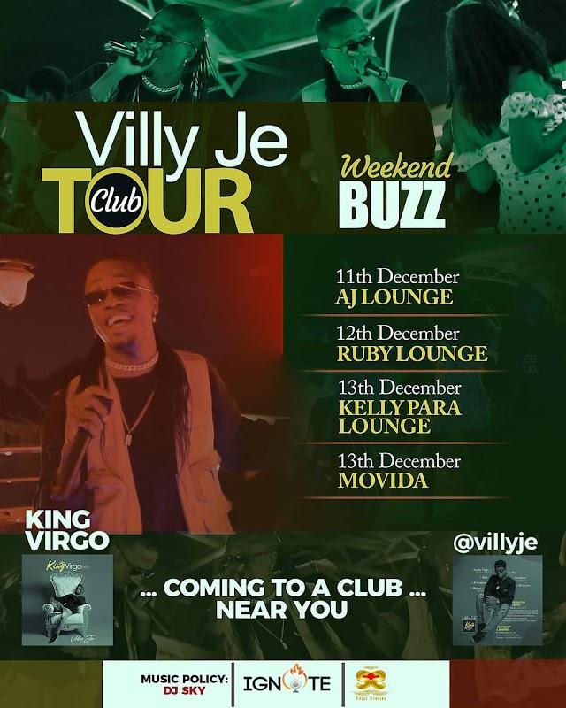 [BangHitz] Villy Je Annouces ''The Villy Je Club Tour''