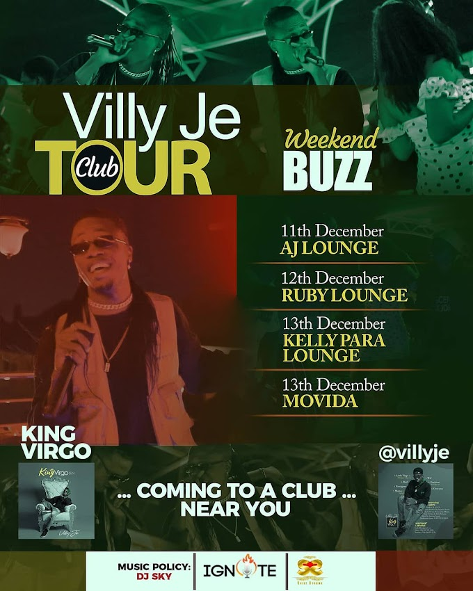 Villy Je Annouces ''The Villy Je Club Tour''