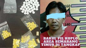 Pengedar Pil Koplo Area Semarang Timur Ditangkap Polisi