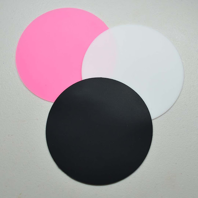 round silicone mat for nail art