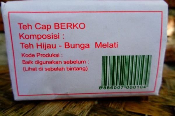Komposisi Teh Cap Berko