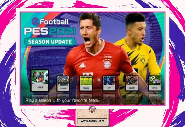 Download Game PES 2021 LITE 400MB PPSSPP ISO Update  Bursa Transfer & Camera Ps4