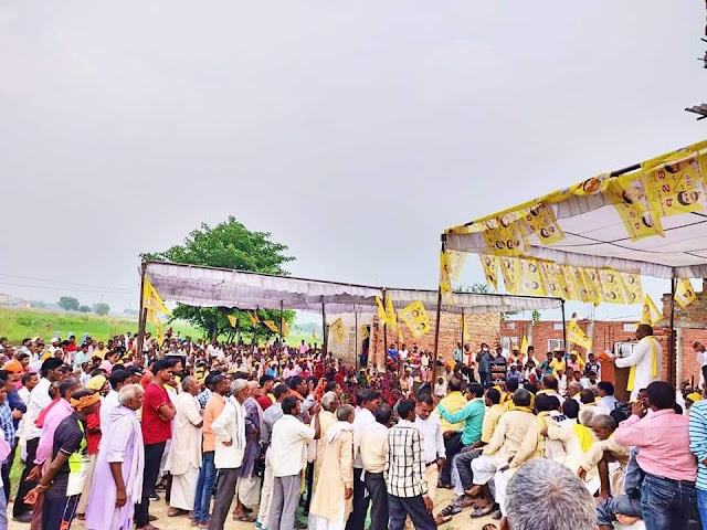 FB_IMG_1569237726196 सुभासपा द्वारा आयोजित कार्यकर्ता सम्मेलन को संम्बोधित करते हुए सुभासपा के राष्ट्रीय अध्यक्ष एवं पूर्व कैबिनेट मंत्री मा.ओमप्रकाश राजभर जी।