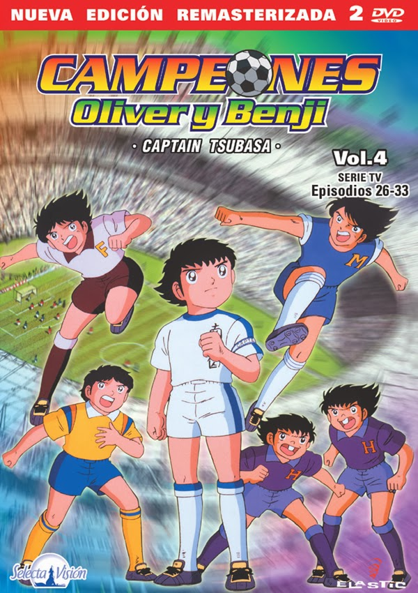 Super Campeones Serie Completa DVDRip ESPAÑOL LATINO