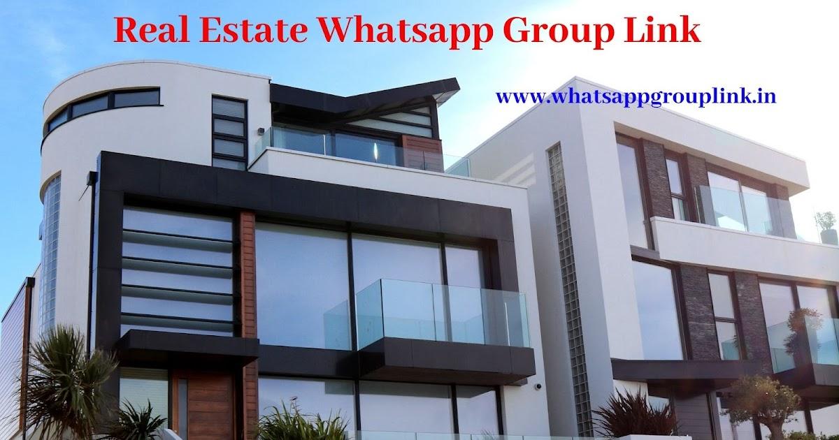 Real Estate Whatsapp Group Link Whatsappgrouplink