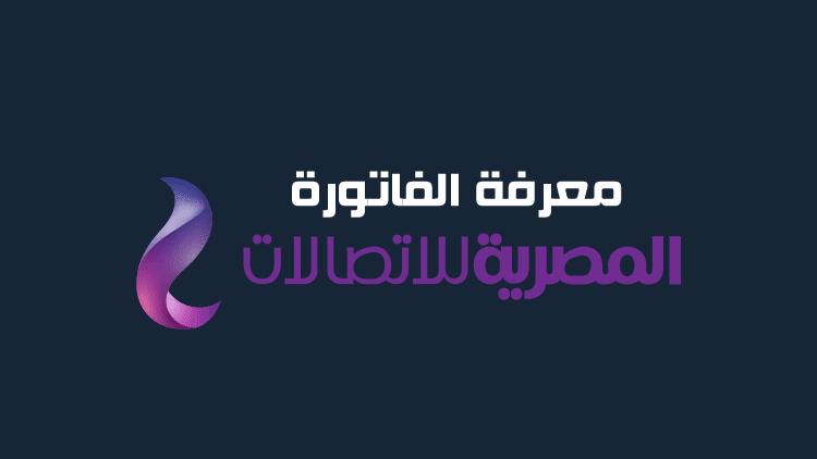 معرفة فاتورة التليفون الارضي من موقع الشركة المصرية للاتصالات