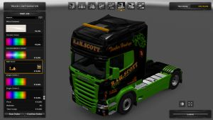 R&H SCOTT Skin for Scania RJL