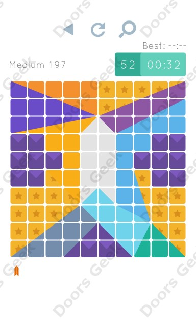 Cheats, Walkthrough for Blocks and Shapes Medium Level 197