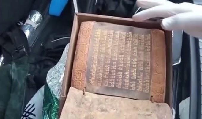 Kitab Taurat Kuno berumur sekitar 2500 Tahun yang Ditulis sebelum Yesus Lahir di Sita Polisi Turki