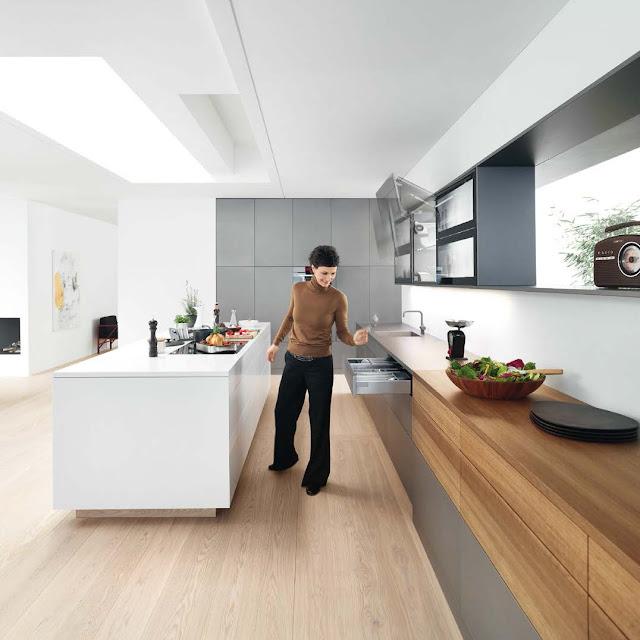 Удобный доступ - на совершенной кухне все всегда под рукой!