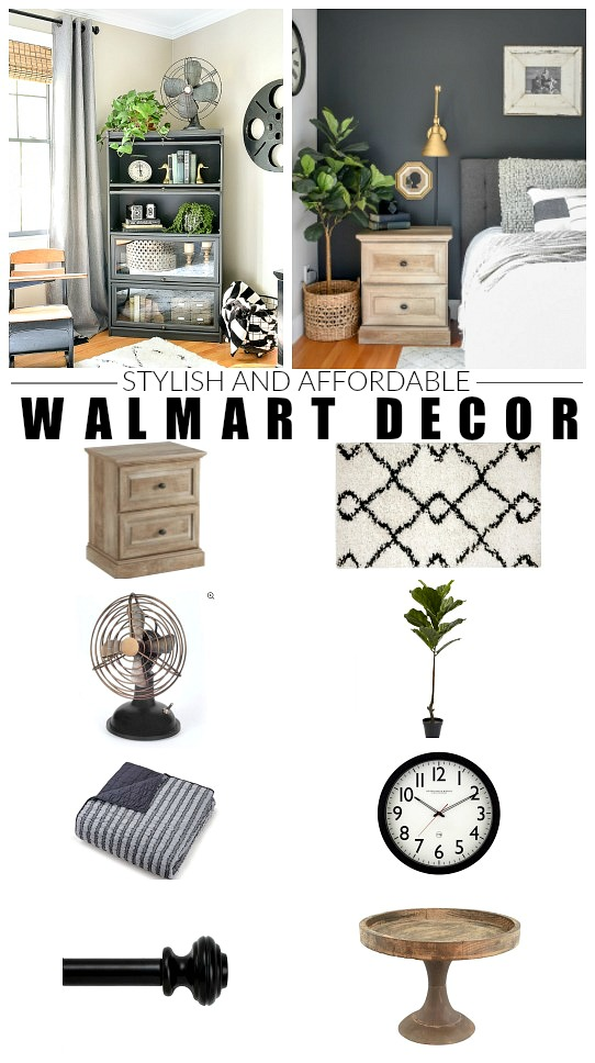 Stylish and Affordable Walmart decor