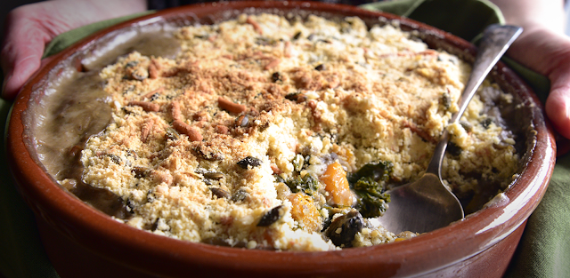 Hearty Vegetable Crumble