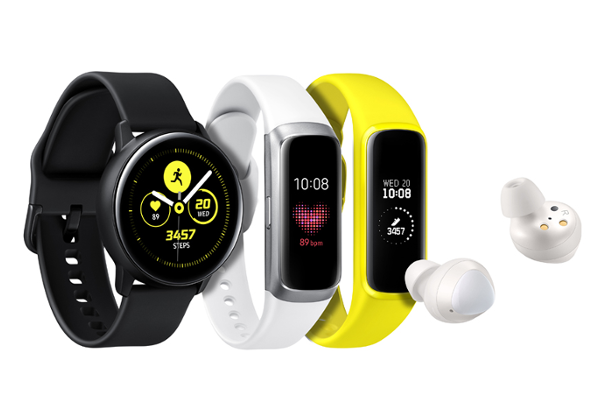 SAMSUNG reveals Galaxy Watch Active, Galaxy Fit/Galaxy Fit e and Galaxy Buds