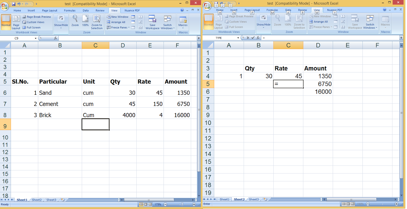 Learn New Things How To Link Formulas Inbetween Worksheets In Ms Excel