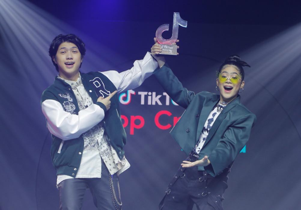 TikTok Awards Philippines 2021, Ranz and Niana