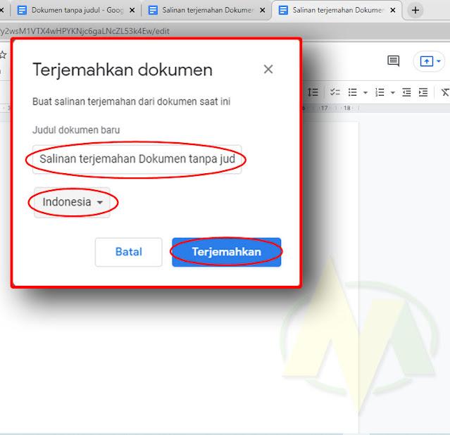 Cara Mengaktifkan Dikte atau Mikropon Di Halaman Baru Di Google Docs