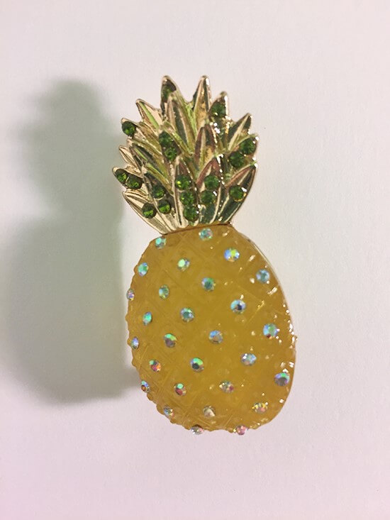 dillards pineapple pin